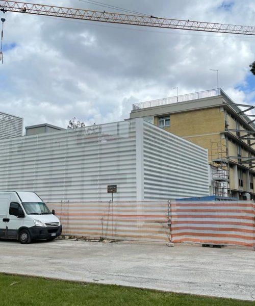 Rotice - Rivestimento torri Ospedale di Foggia